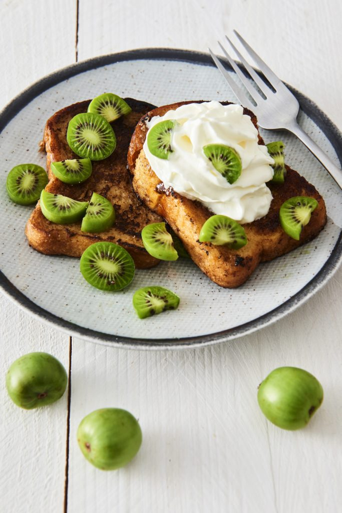 Brioche French toast with Nergi® kiwi berries