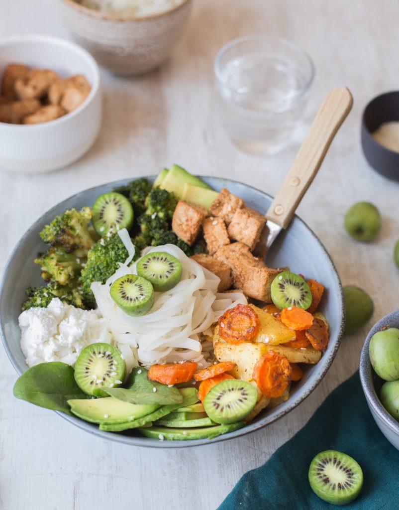 Nergi® Kiwi Berry Autumn Salad
