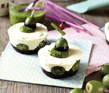 Mini cheese-cake ciocc-NERGI® (da fare con i bambini!)