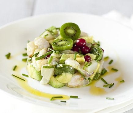 Fish ceviche and NERGI®