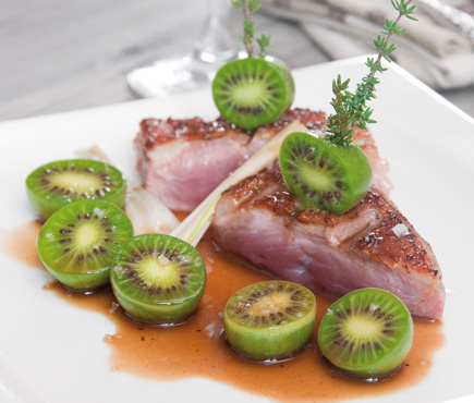 Roasted duck breast and NERGI®