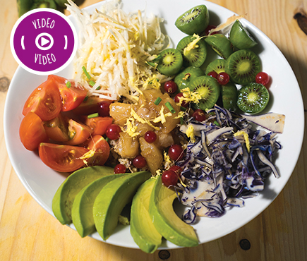 NERGI® POKE WITH CRUNCHY VEGETABLES