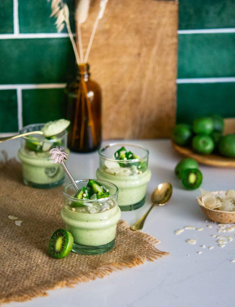 Almond and Nergi® Kiwi Berry creams