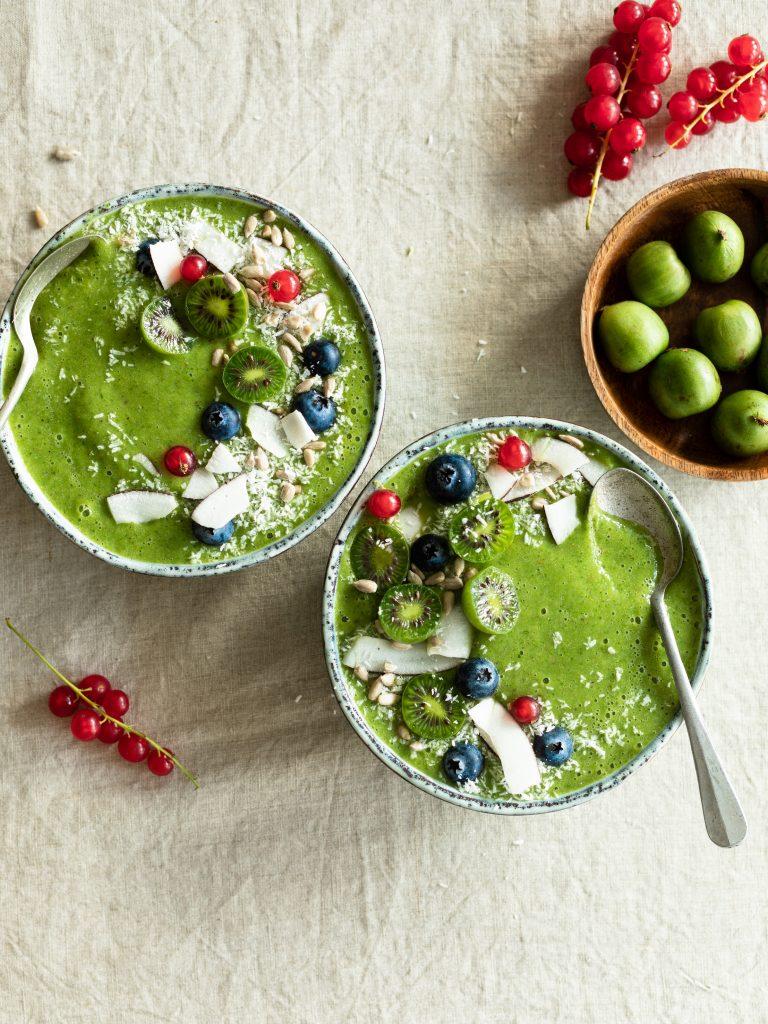 Green smoothie bowl ai Nergi® Baby Frutto